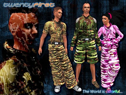 Keshamna + Chansapa - camouflage sets ad