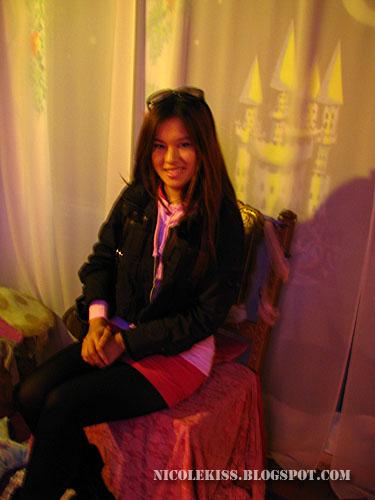 nicole in fairy seat