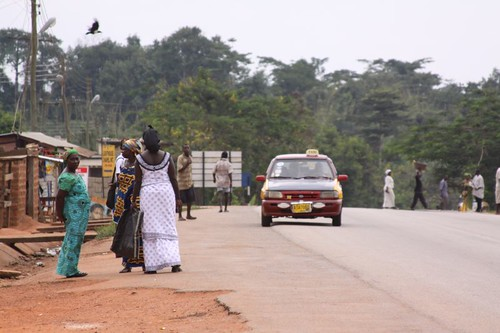 Ghanaian village life...