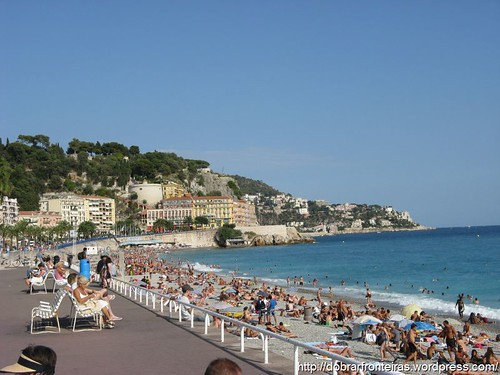 Praia de Nice, França