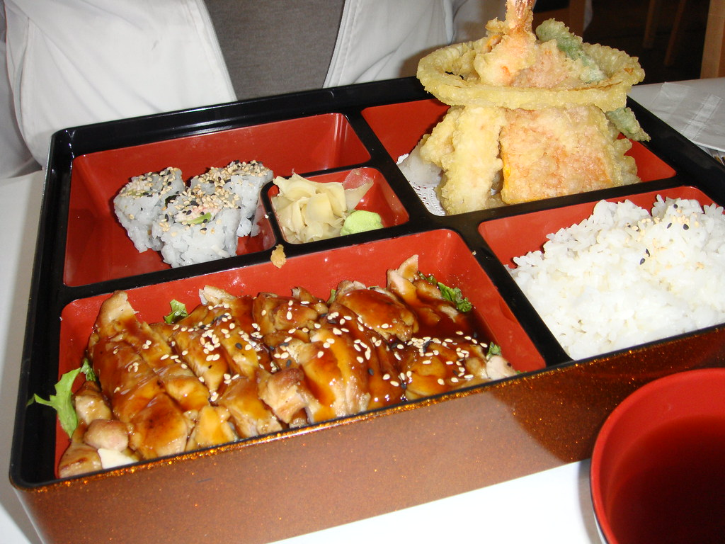 Chicken Teriyaki & Tempura Bento