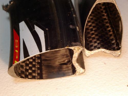 Zipp rim Cutted