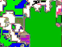 Chance vs style (Rosa Menkman) Tags: broken video error compression noise artifact signal glitch feedback glitchart signalprocessing compressionart
