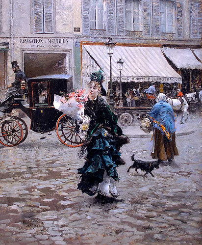Boldini, Giovanni (1845-1931) - 1875 Across the Street