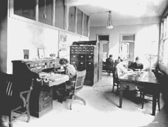 Health Department Tuberculosis Division office, 1918