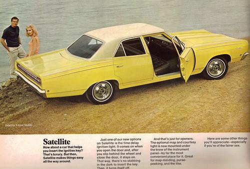 1968 Plymouth Satellite 4 door