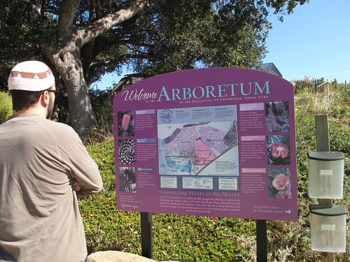 Mo @ Arboretum Sign