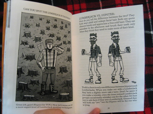 "Spot the Lumberjack and ""how to tell lumberjacks from hipsters"""
