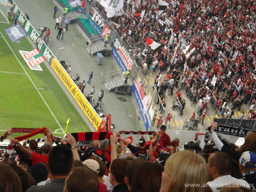 Frankfurt vs Hamburgo - Septiempre 2009