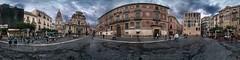 Plaza Cardenal Belluga (Carlos J. Teruel) Tags: espaa nikon 360 paisaje murcia panoramica 2009 d300 plazacardenalbelluga tokina1116 xaviersam