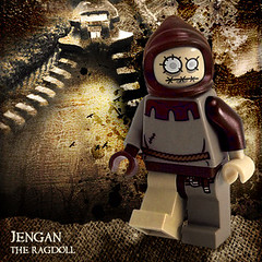 Jengan, The Ragdoll (Morgan190) Tags: halloween scary doll lego 10 9 creepy decal minifig custom rag stiched m19 minifigure 53872 morgan19