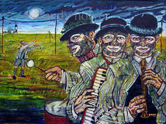 Dungeness minstrels - Art by Andy Holyer MA (Flux Limbo) Tags: art andy by ma holyer andjholyer1btinternetcom