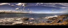 Kiama Panorama (The Waterboy) Tags: panorama cloud pool rocks wave kiama oceran