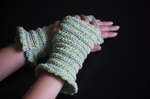 Confetti Fingerless Gloves