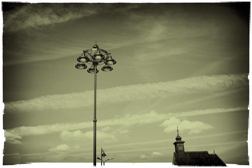 on Sibiu sky