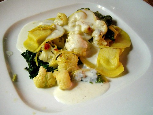 Cauliflower Agnolotti