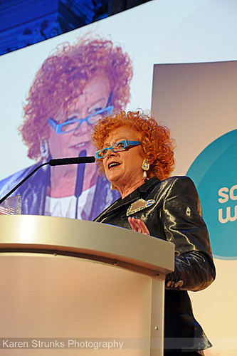 Royal Television Society Awards 2009 Patricia Quinn by Karen Strunks
