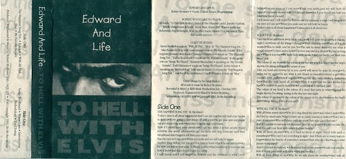 Edward and Life - To Hell With Elvis (front)