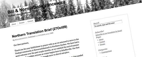 Bill Jancewicz's Website