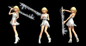 Rixika and Keyblade