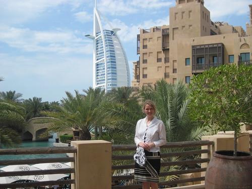 Me, Burj Al Arab