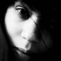 Have no fear... (Franca Alejandra) Tags: portrait blackandwhite bw woman selfportrait art love blancoynegro girl monochrome beauty self mono mujer arte noiretblanc top venezuela bn caracas f portraiture belleza francafranchi