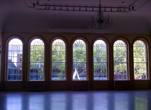 Windows of the East Marine Hall