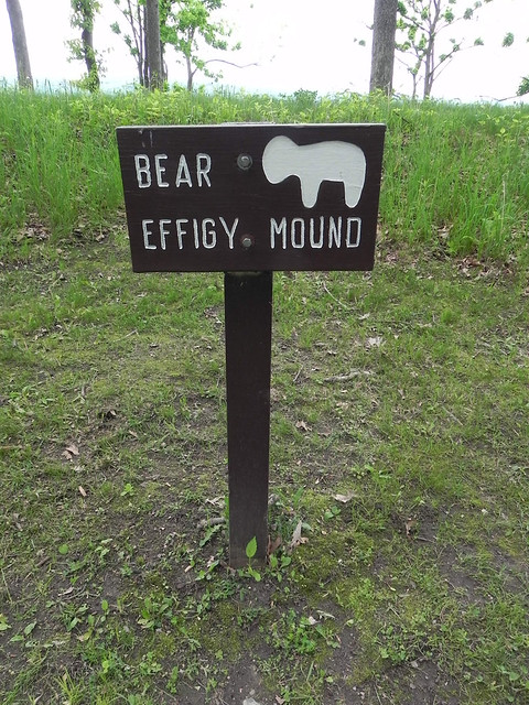 Bear effigy mound