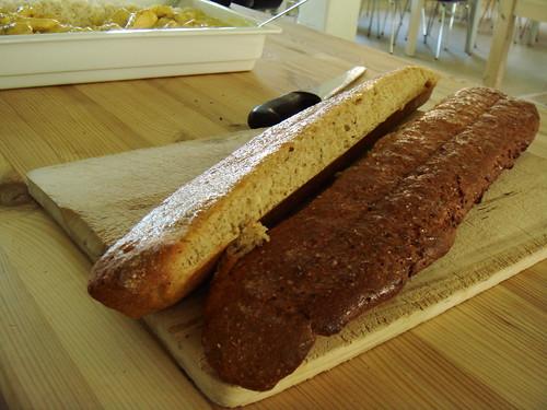 Day 4 Lunch: Garlic Bread