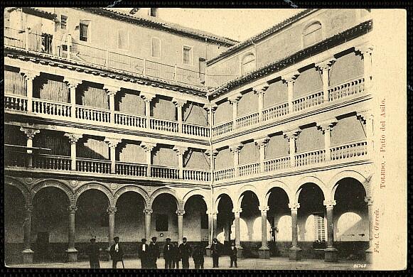 Convento de San Pedro Mártir a comienzos del siglo XX. Foto Garcés