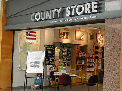 Voorhees Town Center. The Camden County Board of Freeholders offers services to county residents at the County Store in the Voorhees Town Center in Voorhees, NJ.