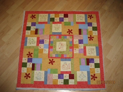 Sweat Pea's Quilt- Cinderberry Stitches