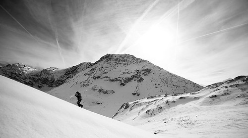 Backcountry Skiing in Sainte Foy