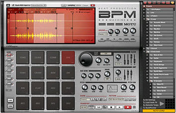 Akai BPM virtual drum machine