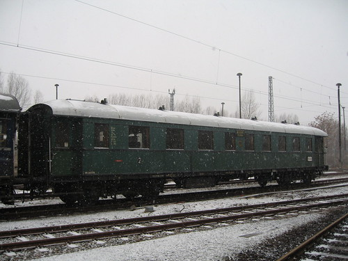 Train Chartering - heritage German carriages available for charter