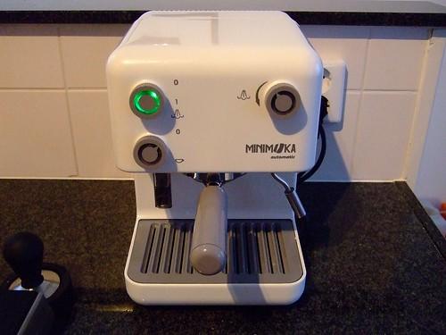 Cafetera Demoka M 600: Reemplazo luminarias ForoLinternas