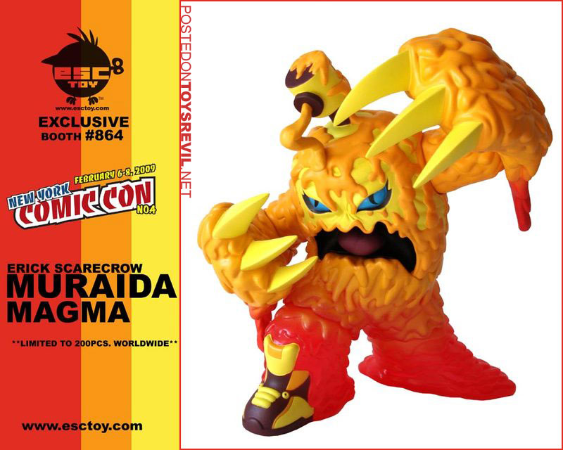3220284879 362a5459f8 o Erick Scarecrows Muraida Magma Review Is Too Hot To Handle!