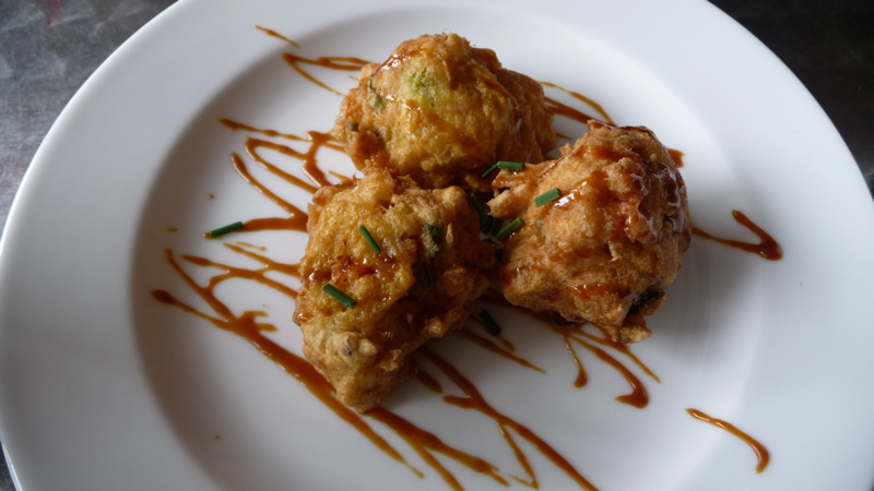 Cod Fritters at Brown Betty