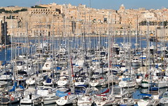 Yacht Marina; Dockyard Creek, Grand Harbour, Malta (foxypar4) Tags: marina boats harbour grand malta yachts valletta grandharbour dockyardcreek