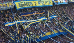 BOCA JUNIORS FANS X river plate (LUCHO :9) Tags: river plate fans juniors boca barra maradona bravas hinchada