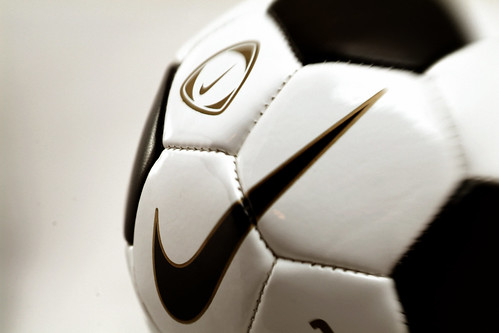 game sports football play soccer nike swoosh stiches