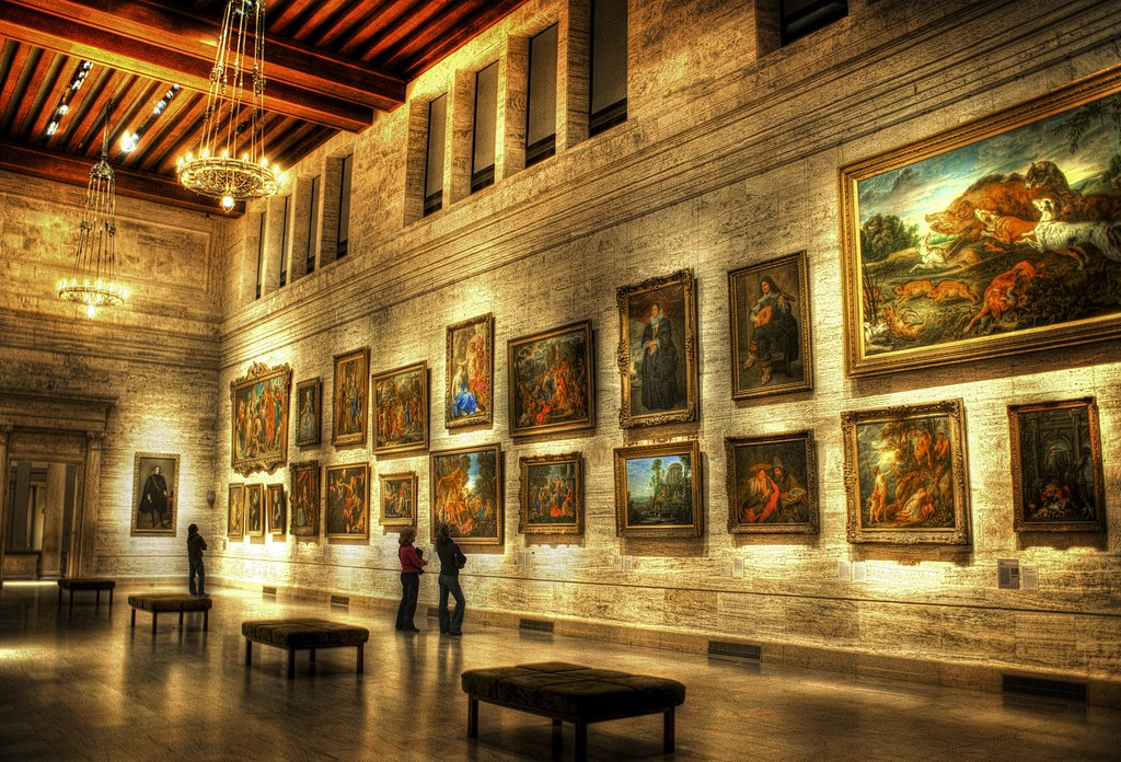 The Art Museum (by Stuck in Customs)