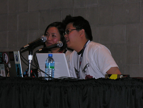 Mark Chang and Candice Uyloan