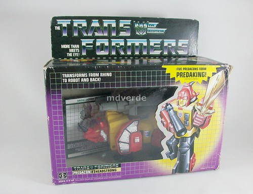 Transformers Headstrong G1 - caja (by mdverde)