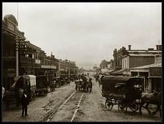 Rundle Street, Adelaide, South Australia 1903 (State Library of South Australia) Tags: adelaide southaustralia rundlestreet horsedrawncarts