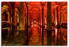 Basilica Cistern #1 (DanielKHC) Tags: digital turkey interestingness high nikon dynamic basilica istanbul explore range dri hdr cistern blending d300 yerebatan dynamicrangeincrease saray danielcheong danielkhc tokina1116mm