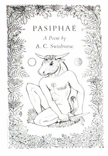 john buckland wright, Algernon Charles Swinburne, Pasiphae