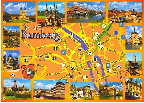 Postcard from Bamburg