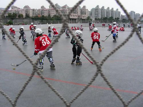 大佳河濱公園-小朋友&冰上曲棍球
