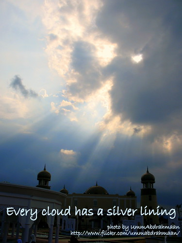 every black cloud has silver lining essay